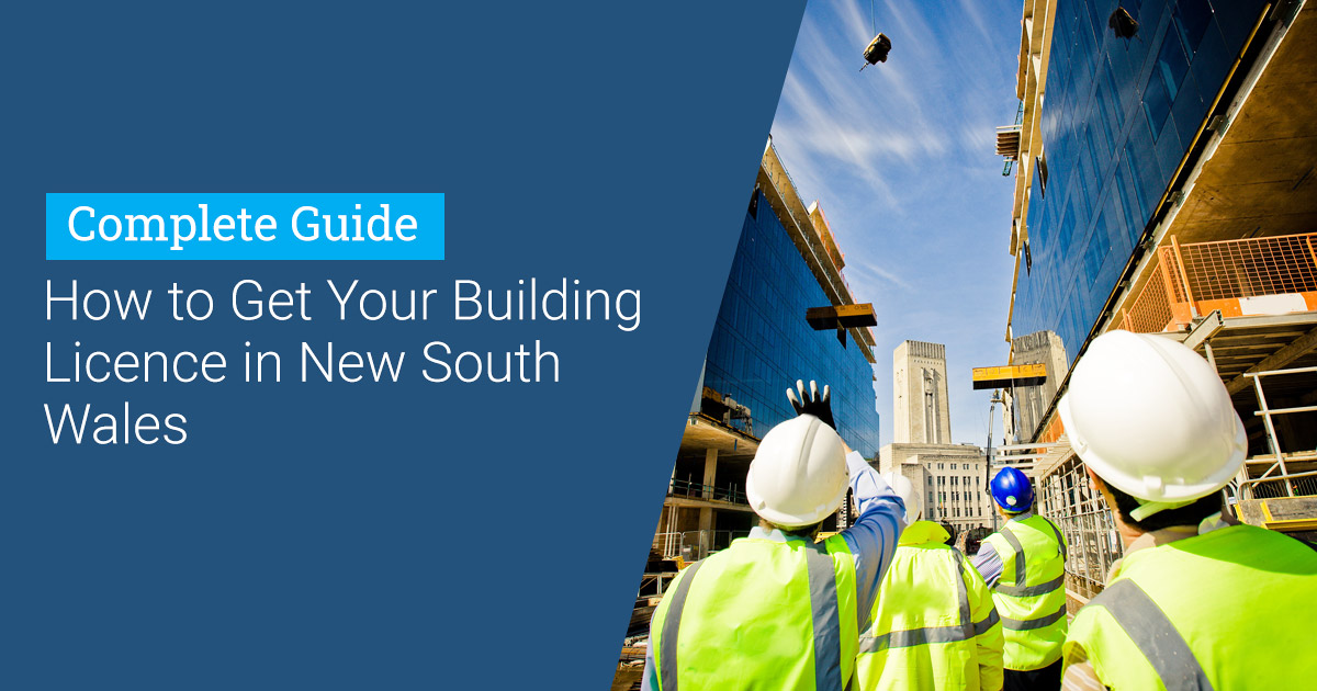 Header for How To Get Builders Licence in NSW