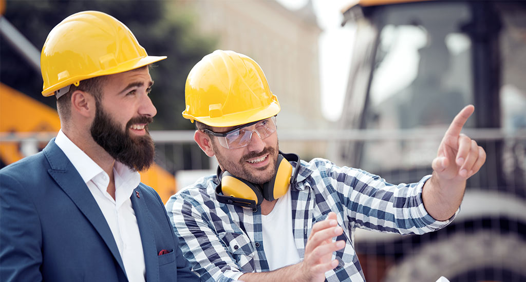 A construction project manager and builder